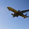 黄色い飛行機来た! 1