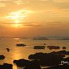 展海岬からの九十九島