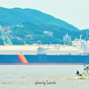 DIAMOND GAS ROSE と漁船
