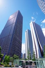 東京散歩 高層ビル群