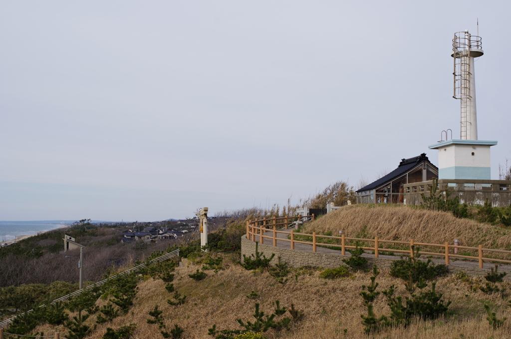 金沢への帰り道にちょっと寄り道 灯台と神社