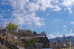 大分ちょっと観光 臼杵城跡 青空でした