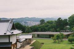 フィルムカメラで金沢ぶらぶら 金沢城跡からの景色