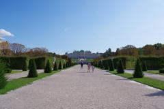 Belvedere Museum 庭園