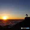 城ヶ島 猫と夕日と星 (17)