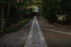 Kamakura散歩 寿福金剛禅寺 雰囲気のある道