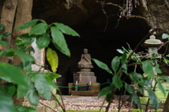 Kamakura散歩 寿福金剛禅寺 遠くに石仏様