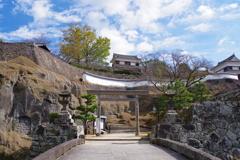 大分ちょっと観光 臼杵城跡 お城があったら壮観ですね