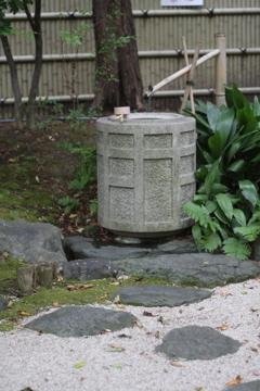 矢場地蔵 水場