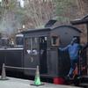 蒸気機関車 女性機関士さん