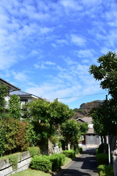JPEGで撮る秋の空