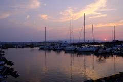 日没前のボンバルディア