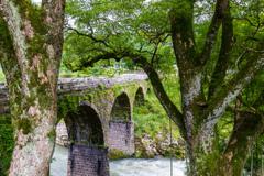 鳥居橋(額縁構図風)