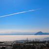 海の上には雲の海