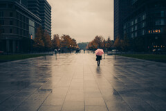 冷たい雨の日