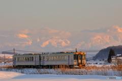 冬の富良野線
