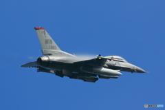 日米合同訓練 F16 ファイティングファルコン