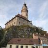チェコ南部 (678) チェスキー・クルムロフ城の塔
