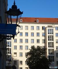 ドイツ(577)ドレスデンの街並・光と影