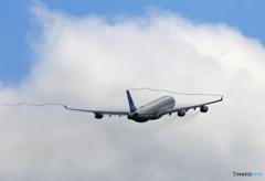 ☀「青い空」が一番 SAS A340-313 飛ぶ ベイパー