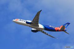 「青の空」Air Calin A330-941 F-ONET 出発