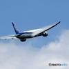 「晴れ」 ANA 777-381 JA780A 出発です