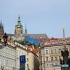 チェコ(552)プラハの切り絵