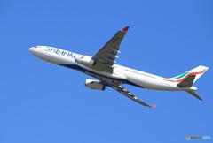 「あおぞら」SriLankan A330-343 4R-ALM 出発です