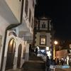 チェコ南部(634)チェスキー・クルムロフの夜と街並み