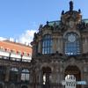 ドイツ(704)ドレスデンの宮殿と青い空