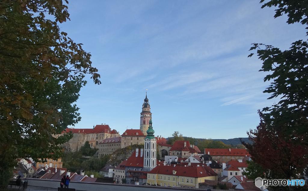 チェコ(123)チェスキー・クルムロフ城塔