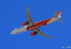 「あおいそら」 VietJet A321-neo VN-A646Takeoff