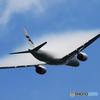 「真青の空」フィンランド A350-941 ☮ベイパー飛行