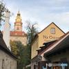 チェコ南部 (402)チェスキー・クルムロフの風景