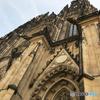 チェコ(410)プラハ城・フロントを観る