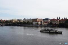 プラハ(507)カレル橋からの風景です