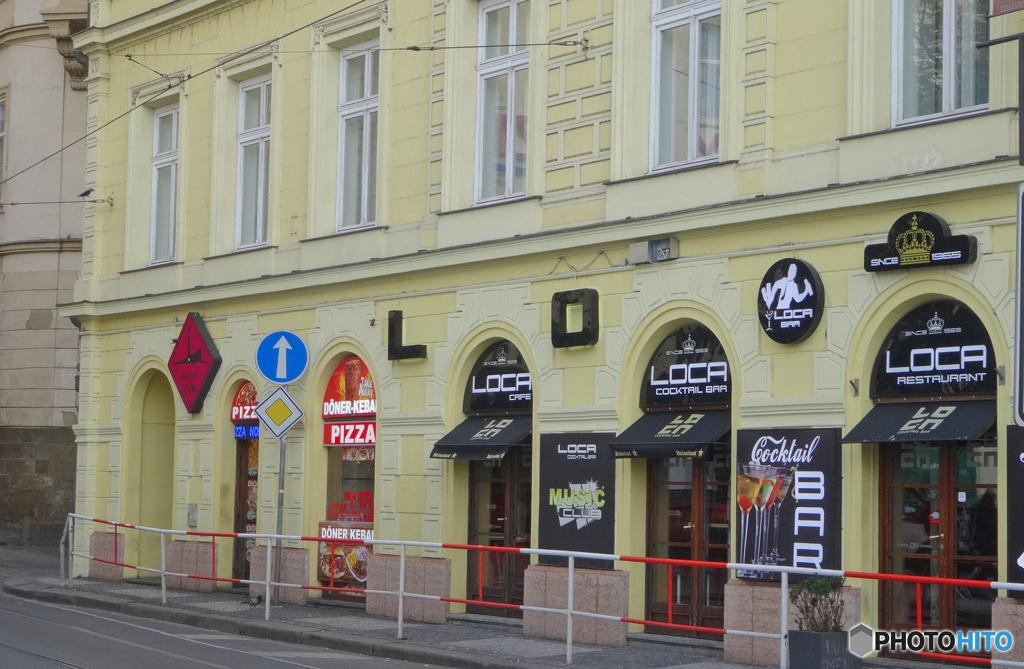チェコ(140)プラハ街並み