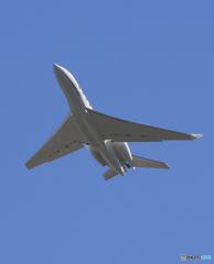 「青が好き」 プライベート ガルフ G650 N871FR Takeoff