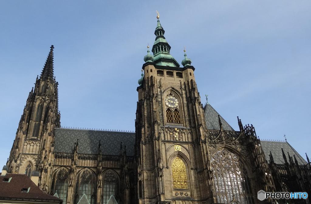 チェコ (374)また・プラハ城ですか!