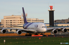 「ぶるー」 Thai A380-841 HS-TUC Takeoff