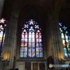 チェコ(748)プラハ城のステンドグラス