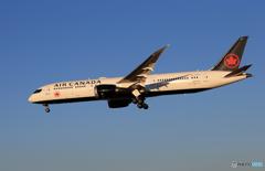 「群青」 Air Canada 787-9 C-FRTU 到着です