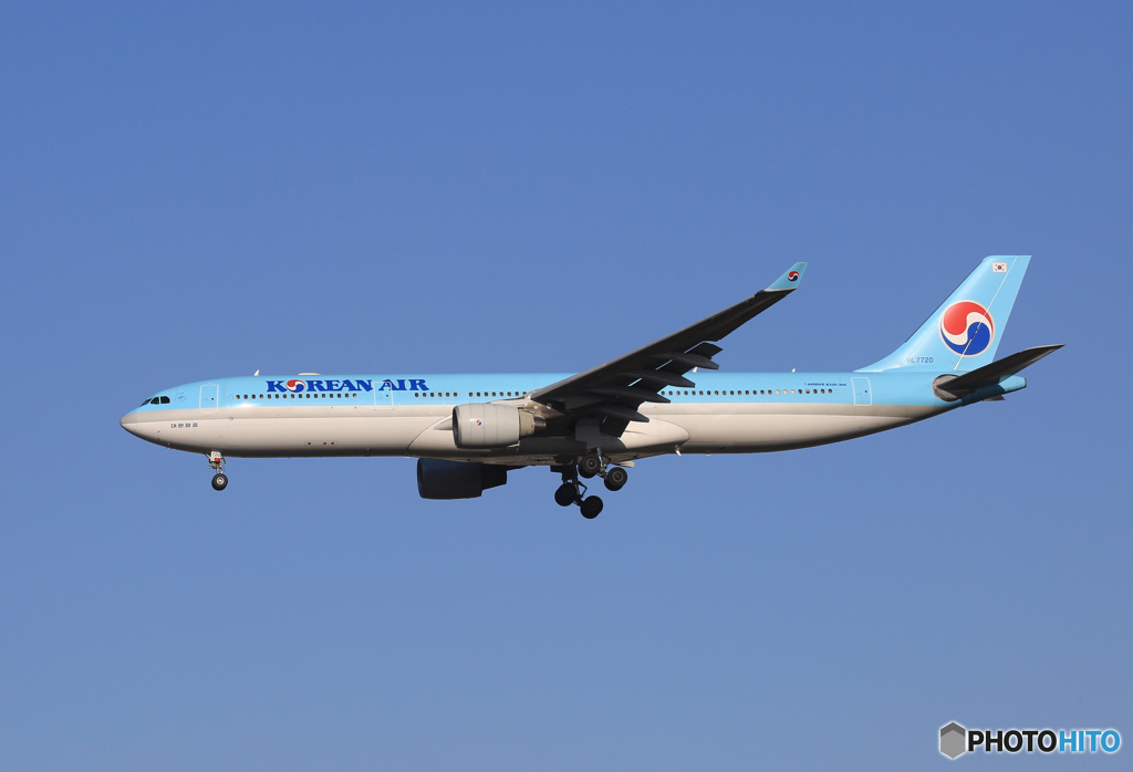 「遠い記憶」Korean A330-300 HL7720