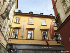 チェコ(506)プラハのボヘミアンのお店