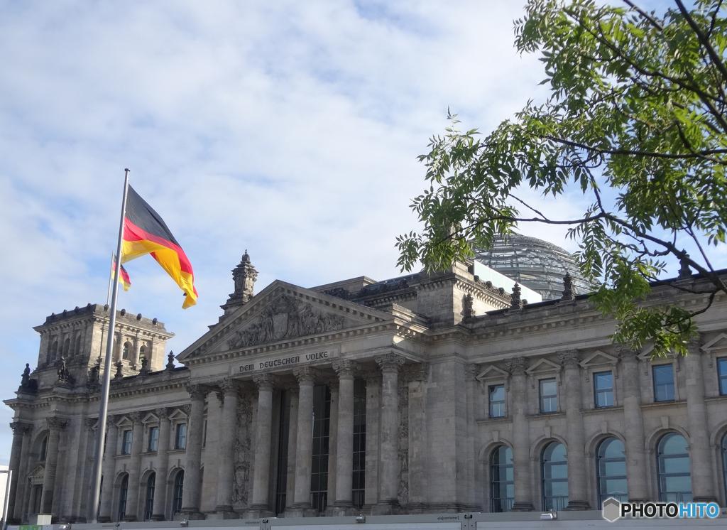 ベルリン(362)国会議事堂の空