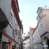 チェコ南部(684)チェスキー・クルムロフの街を歩く
