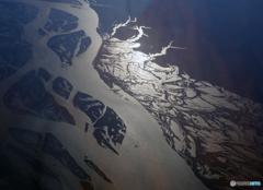 ✈ロシア・上空1万m ✈ アムール 川から 光りの・ささやき?!