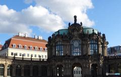 ドイツ(515)青い空のドレスデン