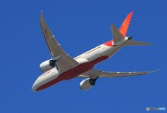 「ぶるー」 Air India 787-8 VT-NAA 飛び立ち