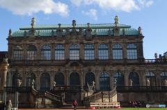 ドイツ(499)ドレスデンの青い空